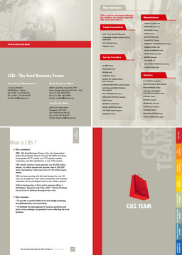 CIES 2006 Handbook