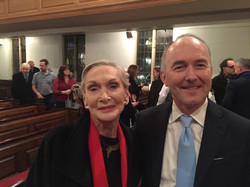 Ieuan Jones with Siân Phillips