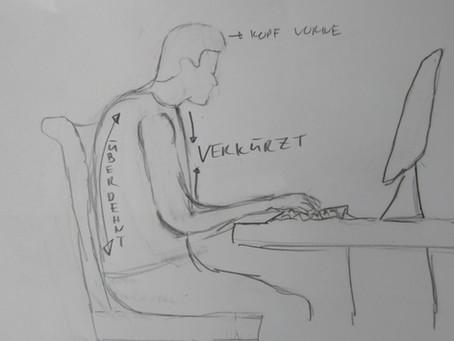 """""""Haltung bewahren"""": Wie ihr den Computerbuckel wegkriegt und Rückenschmerzen reduziert"""