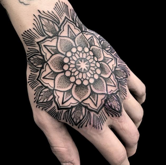 Hand Mandala