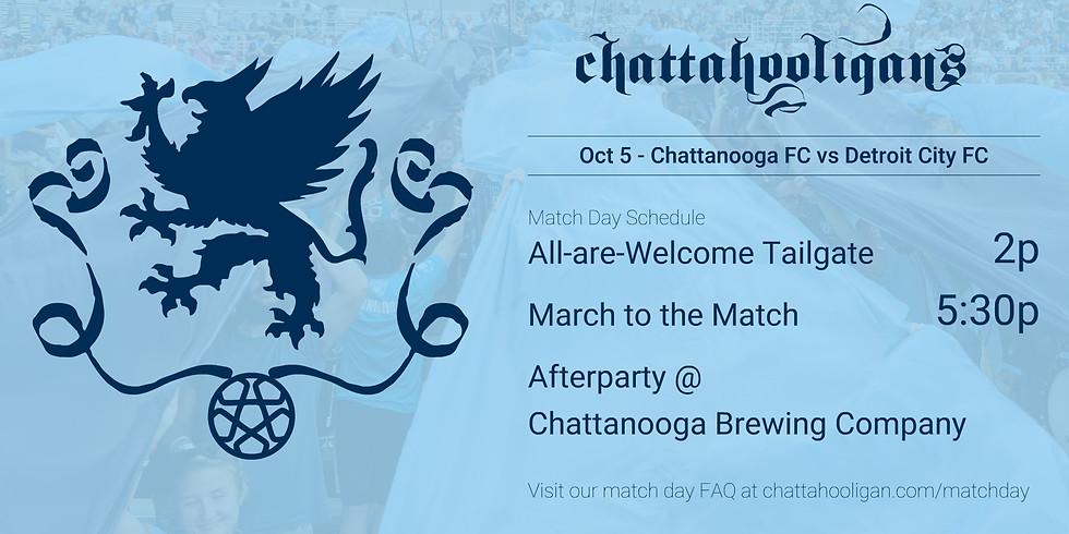 Chattahooligans Match Day: CFC vs Detroit City