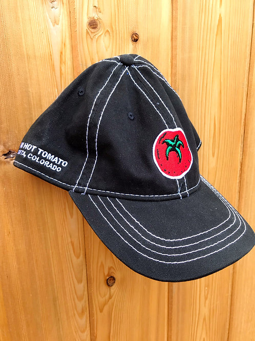 Hot Tomato Embroidered Logo - Black Hat