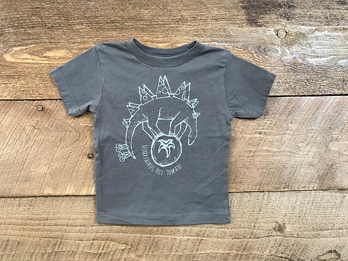 Kids Sliceasarus T-Shirt - Gray