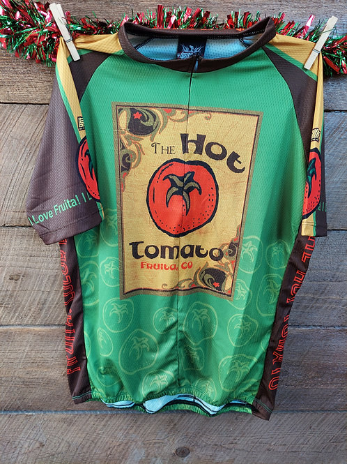 Women's Hot Tomato Green Jersey