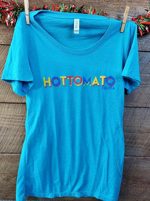Women's 80's Blue Shirt