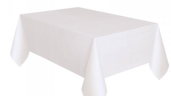 Tischdecke weiß eckig/verschiedene Grössen verfügbar