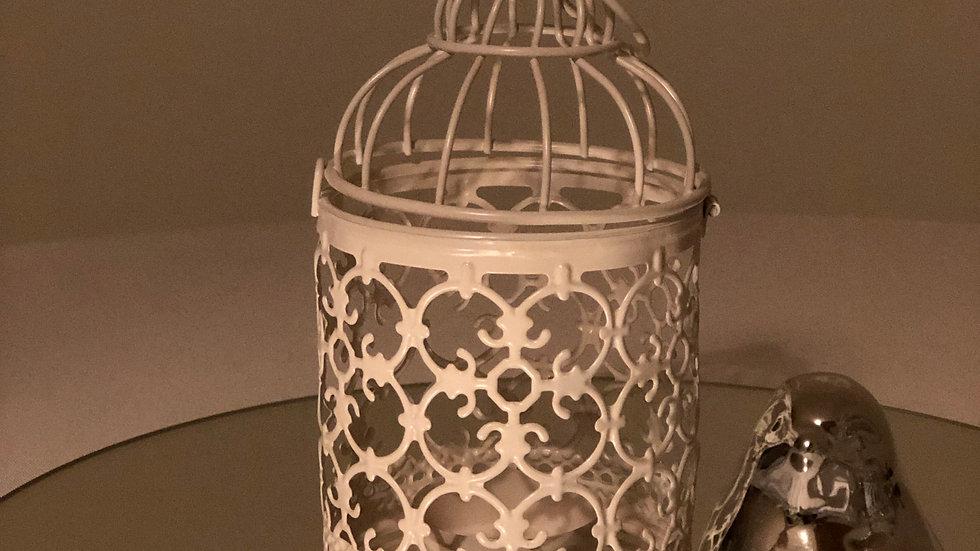 Vogelkäfig für Teelichter