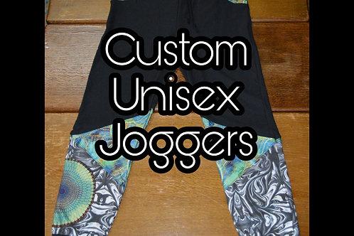 Custom Unisex Joggers~ Bamboo Fleece
