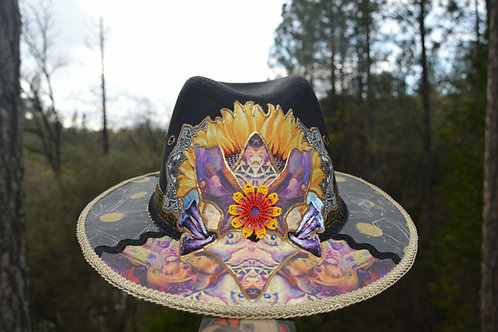 Psychedelic Sunnflower | One of a Kind