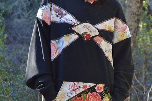 Carnations | One of a Kind Hoodie Small