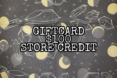Giftcard $100 Store Credit