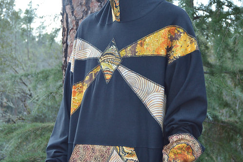 In the Treez | One of a Kind Bamboo Hoodie XLARGE