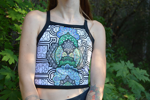 Radiance | One of a Kind Collage Crop Top