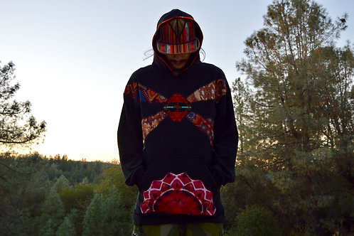 Citrine Sunrise | One of a Kind Hoodie | UM x Cosmic Cove Collab