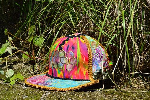 Rainbow Honeycomb~Handmade One of a Kind
