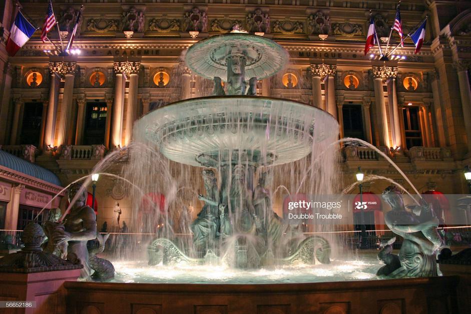 Paris Las Vegas Fountain