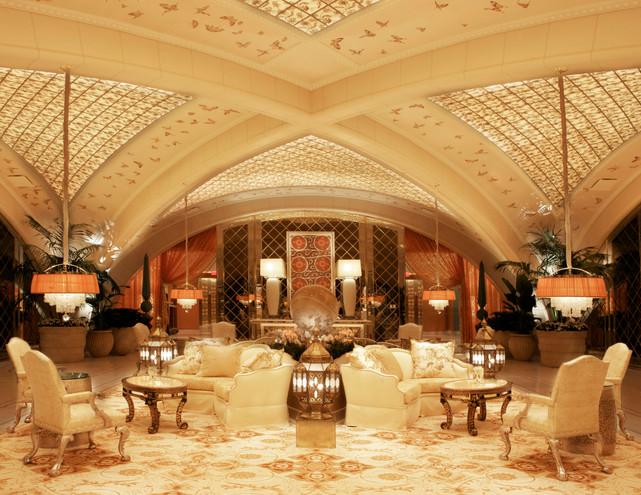 Interior Spa Lobby