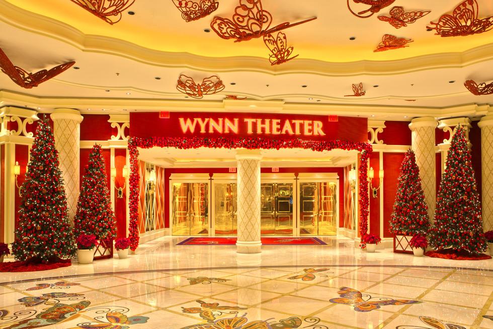Theater Entrance Wynn Las Vegas