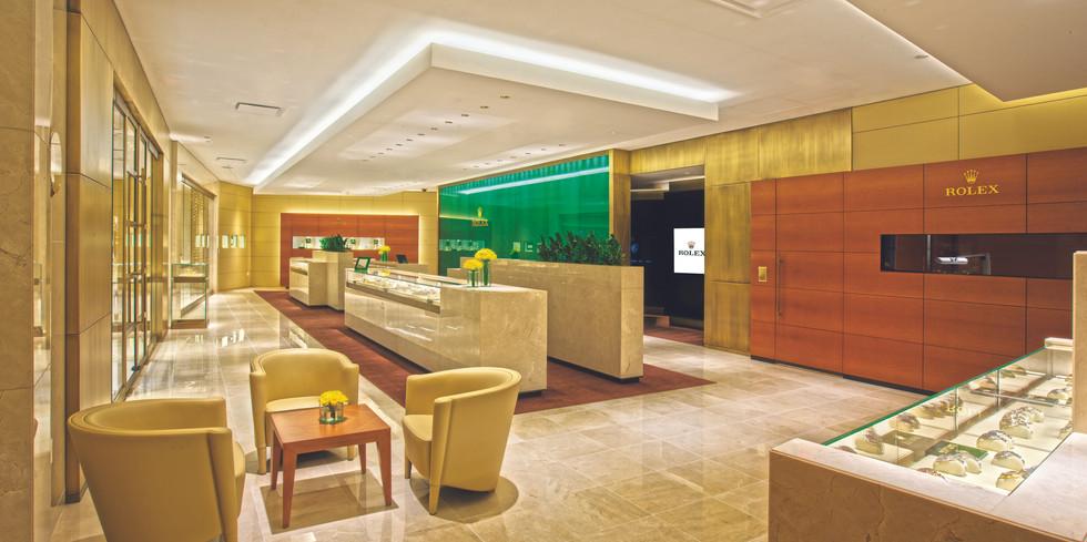 Interior Rolex Store