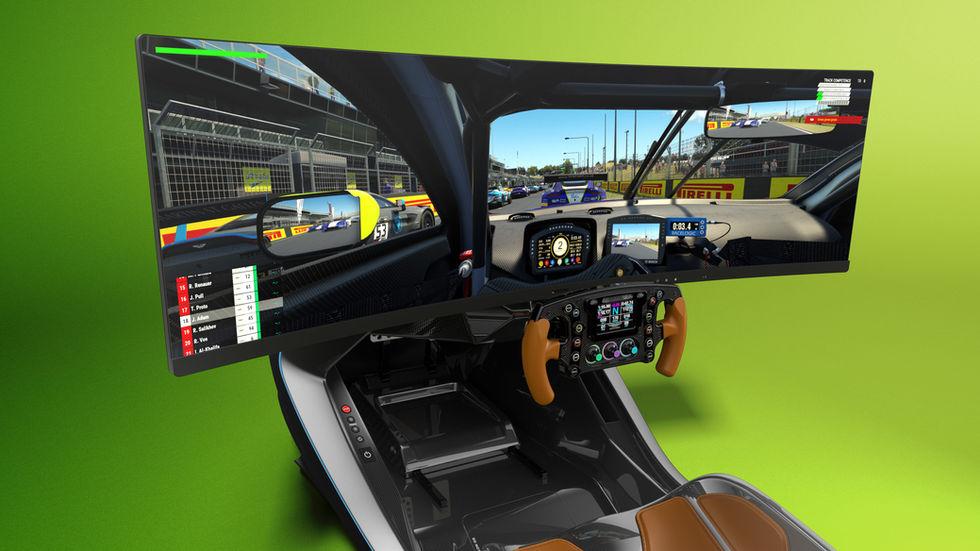 CURV X ASTON MARTIN AMR-C01 Racing Simul