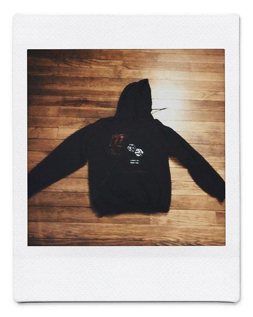 Split hoodie - Take A Day Trip// Danielle Guizio