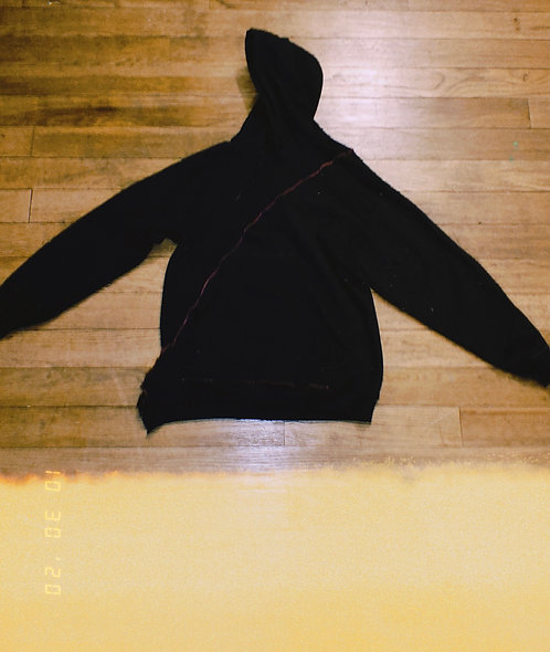 Split hoodie - Take A Day Trip// Danielle Guizio