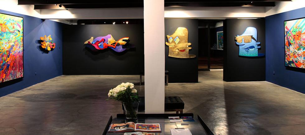 vue d'ensemble de l'exposition