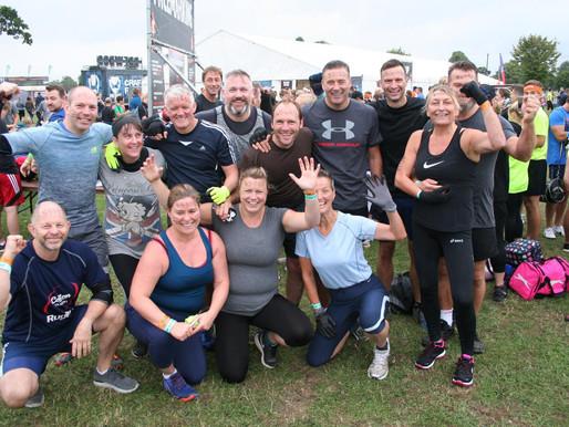 Tough Mudder raises over £3,000