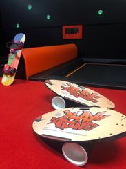 Trampoline balance Board Jib Board