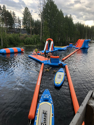 floating activity park