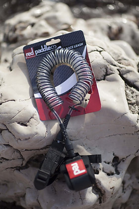 ליש מקורזל '8 לסאפ FLAT WATER COILED LEASH