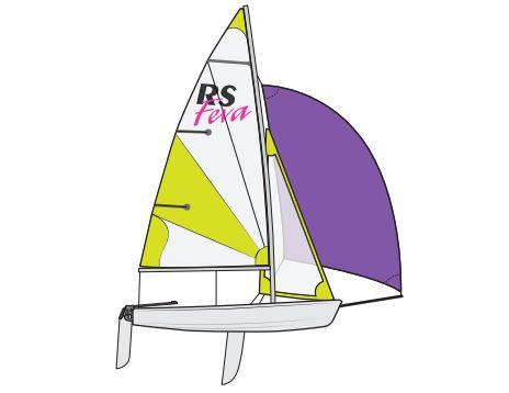 RS Feva XL Club מפרשית
