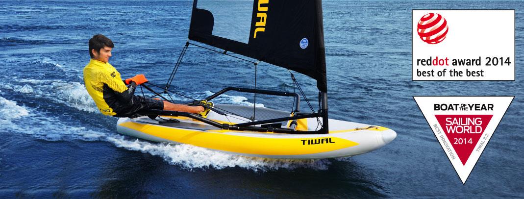 הכירו את את המפרשית המתנפחת TIWAL