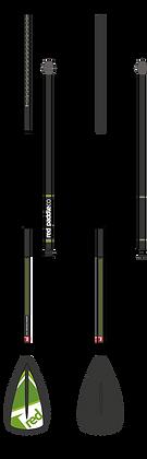 משוט פיבר/פלסטיק 3 חלקים 2017 GLASS/NYL 3ps PADDLE