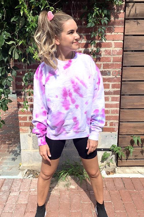Purple Fluffness Sweatshirt
