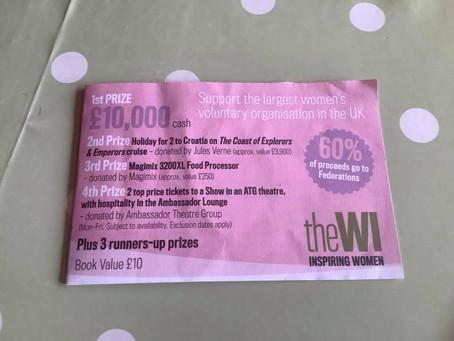 NFWI Raffle Tickets On Sale