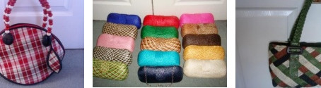 The Making of Handwoven Bags from the Philippines