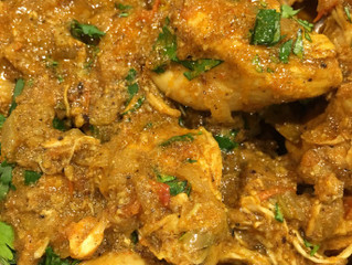 South Indian Chettinad Chicken