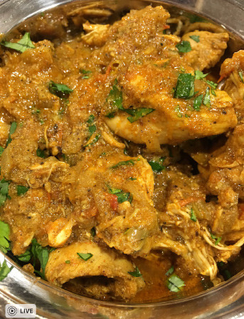 South Indian Chettinad Chicken - Tasty Chicken Dinners
