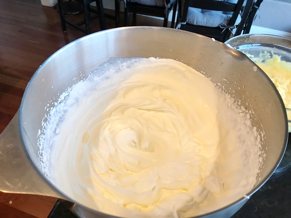 Whipped cream for worlds best cake