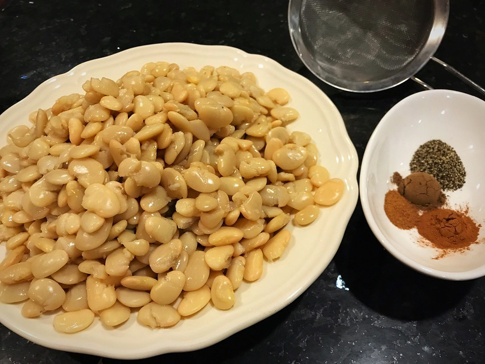 Since the Butter beans for Fasoliya