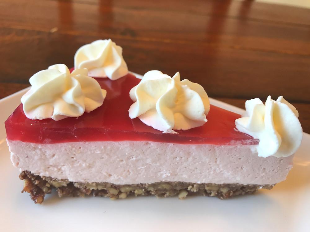 Low Carb KETO Raspberry Cheese Cake