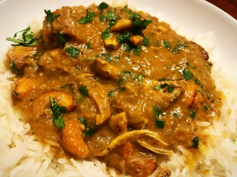 Sri Lankan Chicken Curry with Cashews Recipe