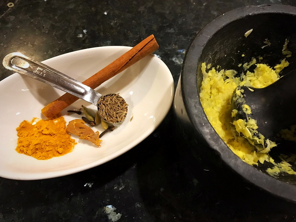 Indian Spices for Yellow Rice