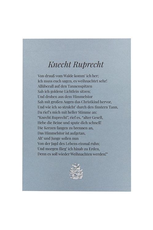 Postkarte - Knecht Ruprecht
