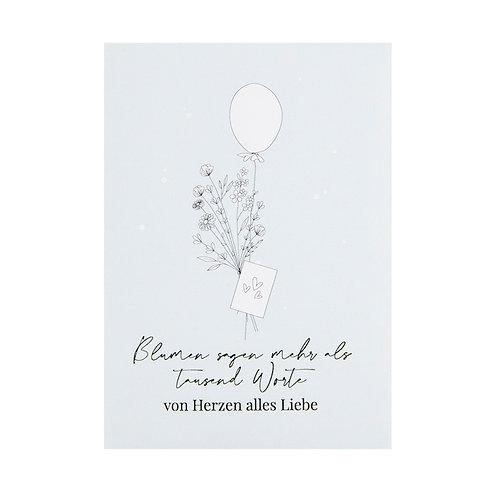 Blumensaat - Alles Liebe Sommerblumenmischung