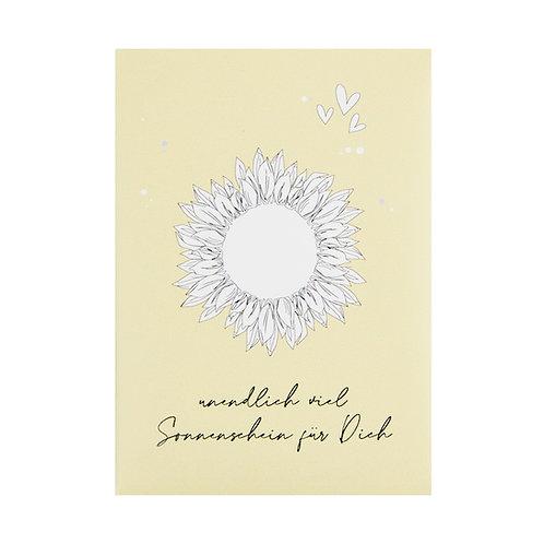 Blumensaat - Sonnenschein für Dich Sonnenblumen