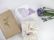 Geschenke mit Verblühmeinnicht Blumensaat