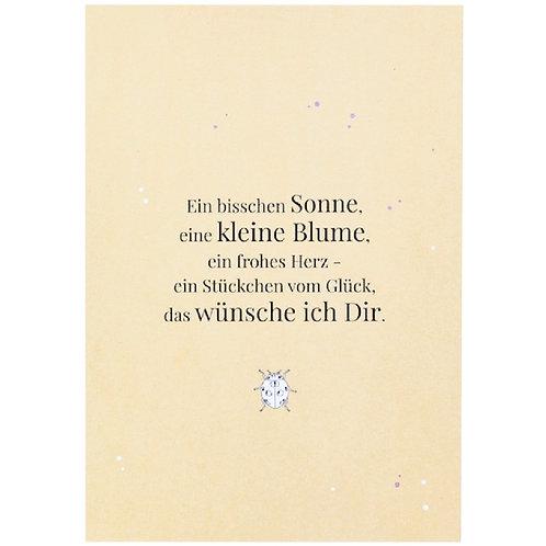 Postkarte - Das wünsche ich Dir