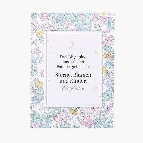 Blumensaat - Sterne, Blumen und Kinder
